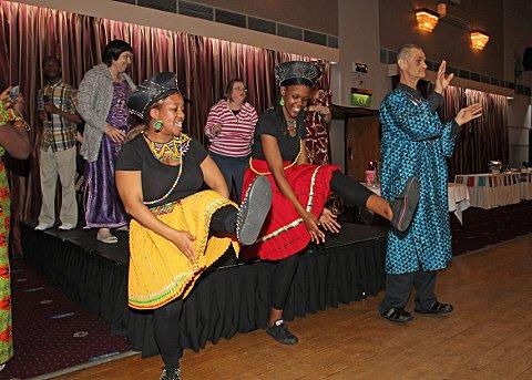 African dancing was one of the featured activities