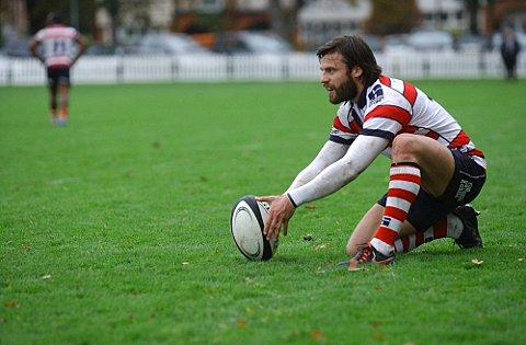 Perfect nine: Man of the moment Ross Laidlaw was inch-perfect with the boot against Tynedale    SP70657