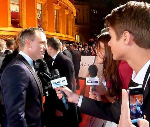 Callum Bates interviewed James Bond actor Daniel Craig