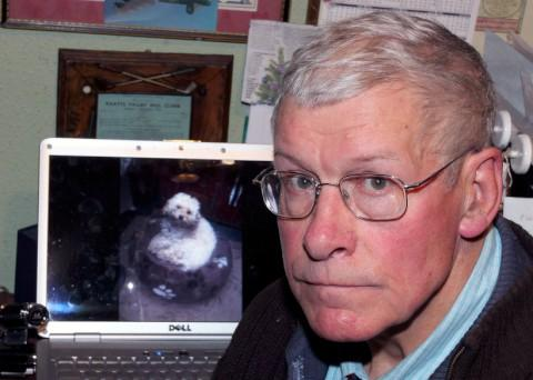 John Tooze's dog Scruff was killed by another dog on Heavers Meadow