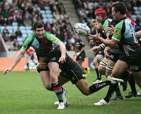 Big returns: Tom Casson scored the winner at London Irish on Sunday
