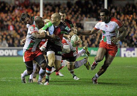 Back: England full back Mike Brown will start for Quins against Gloucester