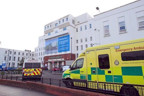 St Helier Hospital's accident and emergency (A&E) department is under threat