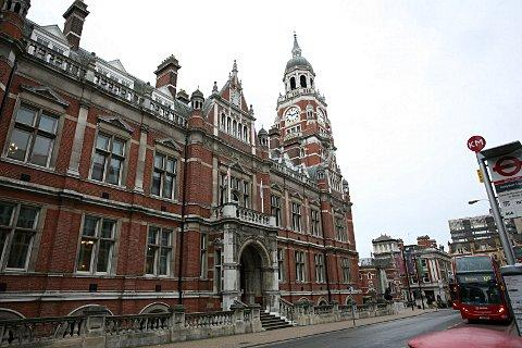 Croydon Council's town hall headquarters