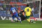 Palace played Norwich in a friendly in 2012