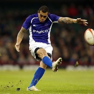 Tusi Pisi kicked 11 points as Samoa shocked Wales at the Millennium Stadium