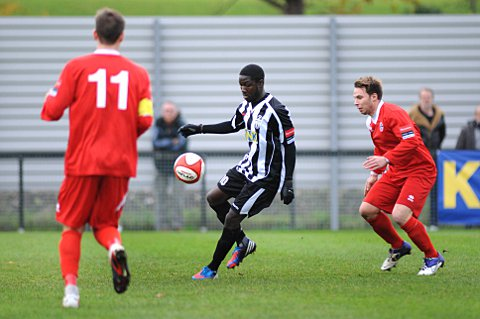 Among the goals: Taurean Roberts got on the scoresheet against Whitstable Town