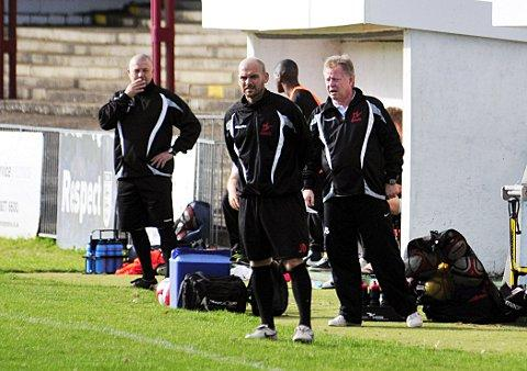 Standing firm: Robins boss Tommy Williams will not walk away from the job despite a bad run of form    SP68722
