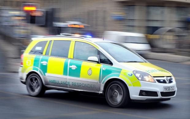 London Ambulance Service treated a man