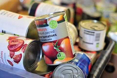 Families can collect emergency food parcels