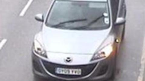 Darryl McClymont's silver Mazda 3 was found in Addiscombe