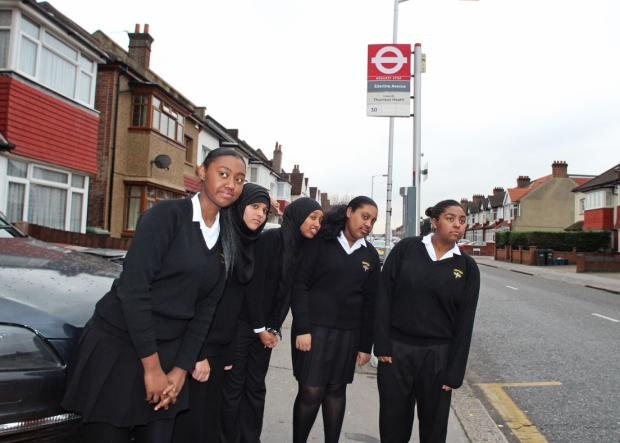 Year 10 students; Amani Chambers, Taybah Jamaldin, Hafsa Omar, Tamara Scipio and Simone Gordon have launched the campaign