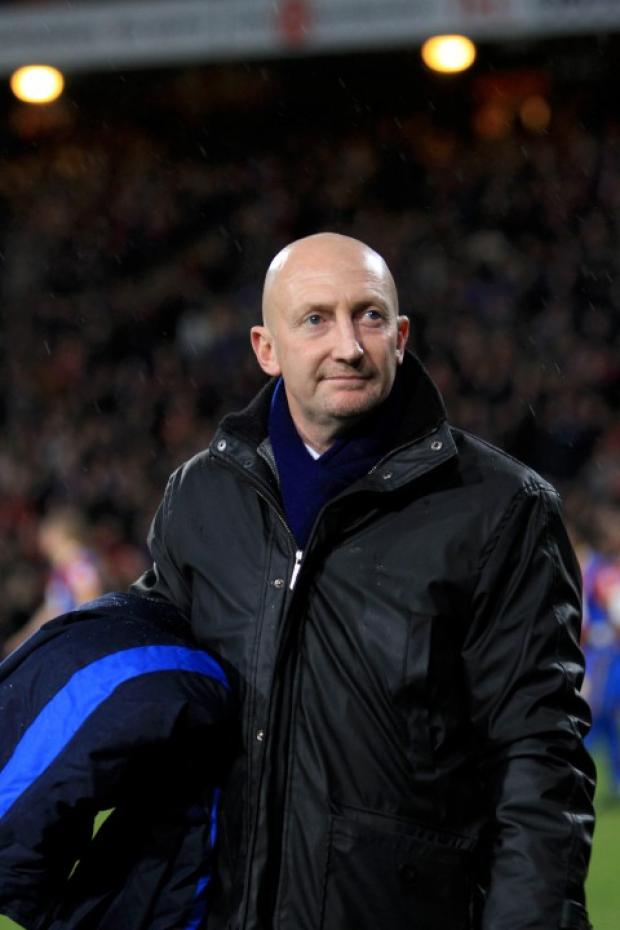 Take it: Holloway was pleased with the points against Bristol City but not necessarily the performance