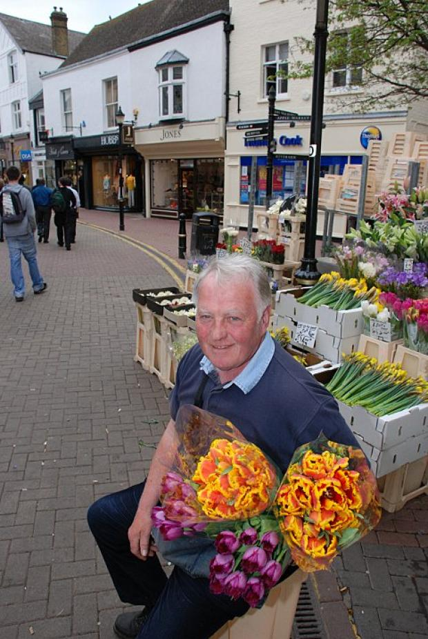 Legend: Former flower seller Jimmy Cochrane used his pension fund to save Ks