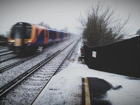 Hersham snow by David Stewart