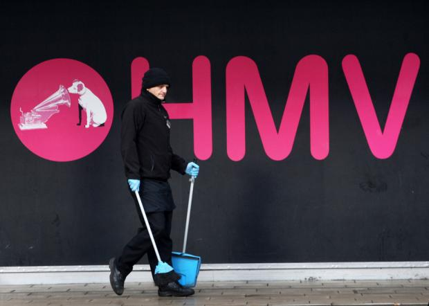 Administrators are shutting 66 HMV stores