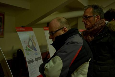 Buzzing: Many attended the exhibition to see the new plans