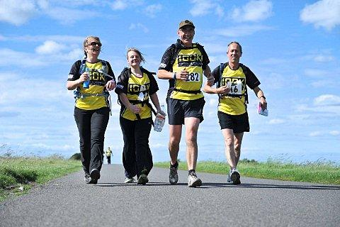 Walkers will trek 100km