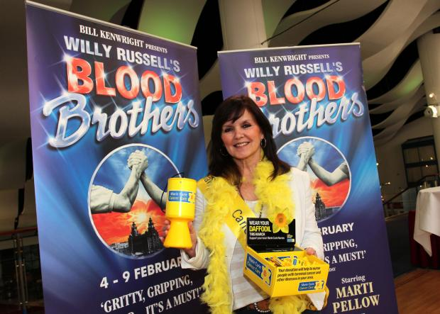 Blood Brothers star Maureen Nolan