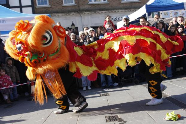 Wimbledon piazza will feature lion dancing, face painting and calligraphy