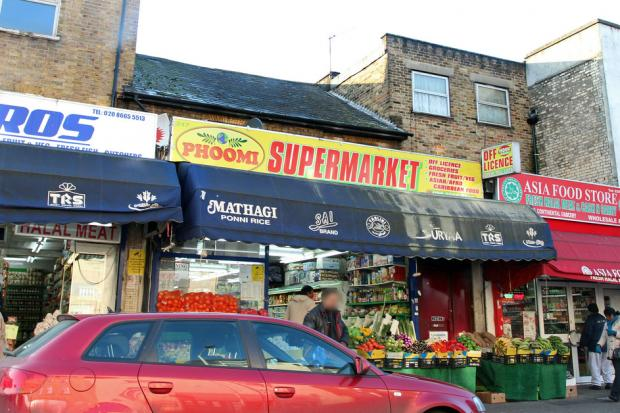 Mr Manivassakam owns the Phoomi Supermarket on London Road