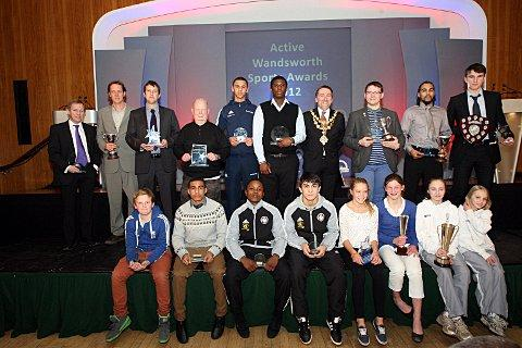 Croydon Guardian: Congratulations: All the winners from the Active Wandsworth Sports Awards 2012      SP73757
