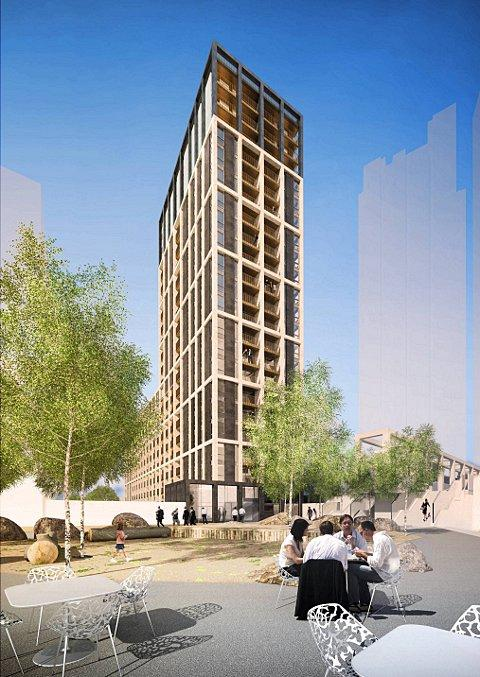 Architect's impression of Ruskin Square development