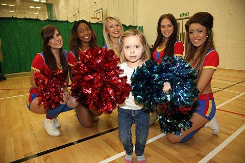 The Crystals attended the grand opening of Waddon Leisure Centre