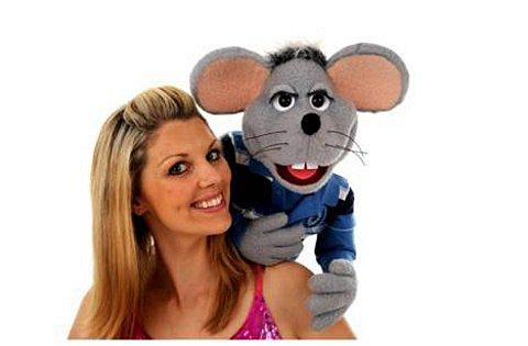 Theo the Mouse and his friend Wendy Abrahams