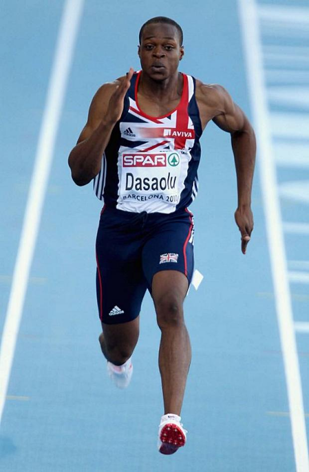 Going for it: James Dasaolu is targeting a medal at next month's European Indoor Championships