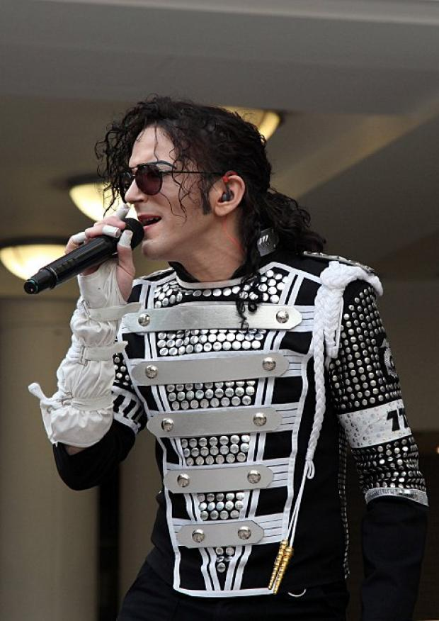 Ben Bowman as The King of Pop Michael Jackson.