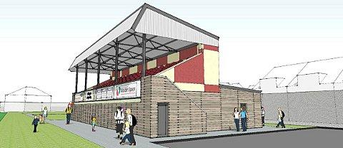 Artist impression of the new stand