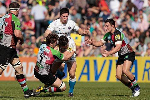 Form: Luke Wallace has started Quins' past three Premiership games