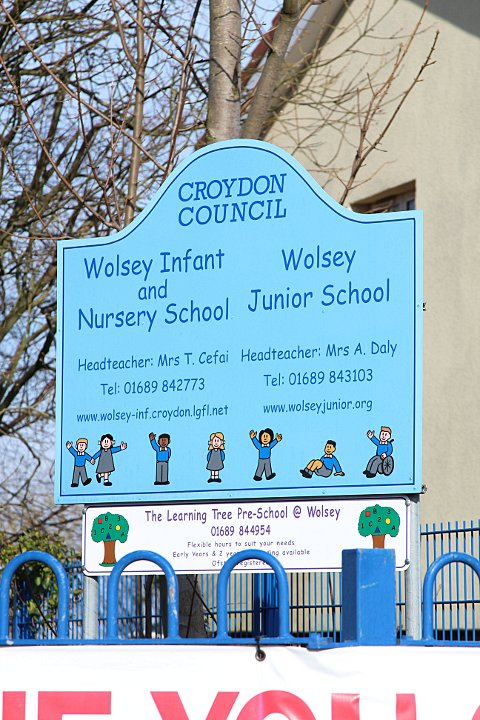 The nursery operates at Wolsey Infant School