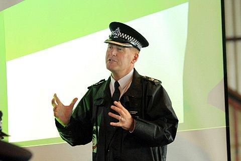Chief Superintendent Adrian Roberts