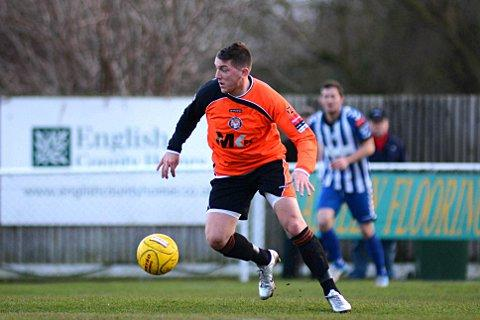 Gone: Greg Andrews has played his last game for Walton Casuals   SP72680