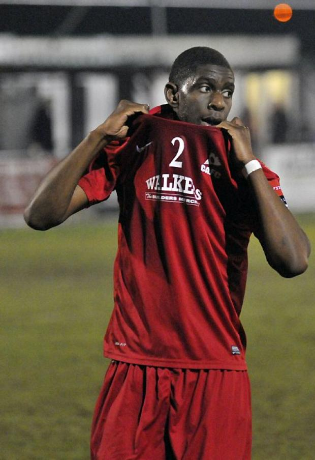 Changing shirts: Michael Kamara has left Carshalton for Dover Athletic    SP74104