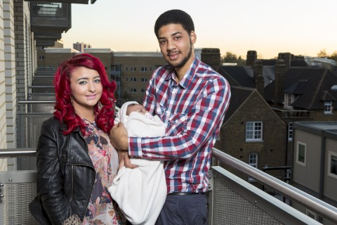 Shannon and Paul from South Norwood feature in The Baby Bomb