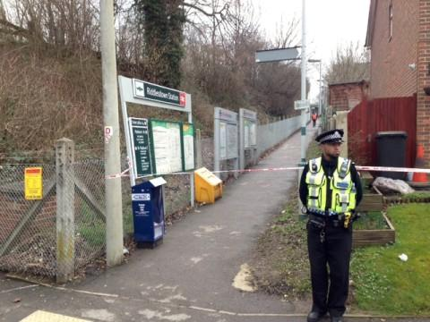 Police and ambulance were called to Riddlesdown station at around 8.30am