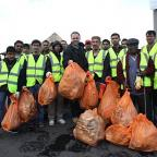 Croydon Guardian: Gavin Barwell and Ahmadiyya Muslim Association cleaning up Croydon University Hospital