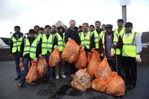 Residents club together to clean up Croydon