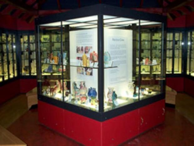 Croydon Guardian: Items from the Riesco collection on display in the Museum of Croydon
