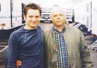 Hobbit forming: Paul Row made firm friends with Elijah Wood while filming football movie The Yank