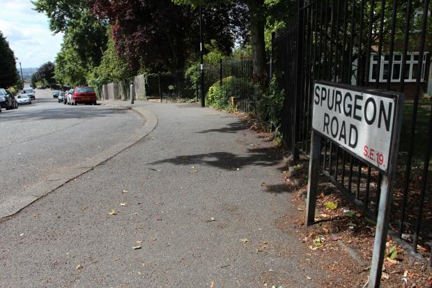 Colin Fitzgerald died after the accident in Spurgeon Road