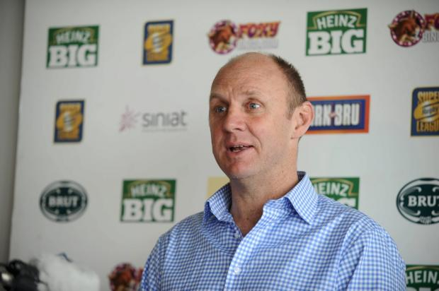 Aiming big: Broncos coach Tony Rea is looking to upset the Super League leaders