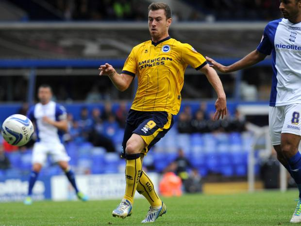 Albion want to keep Ashley Barnes
