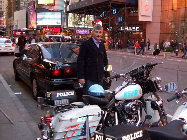 Croydon Guardian: PC Andy Duncan on a recent holiday to New York