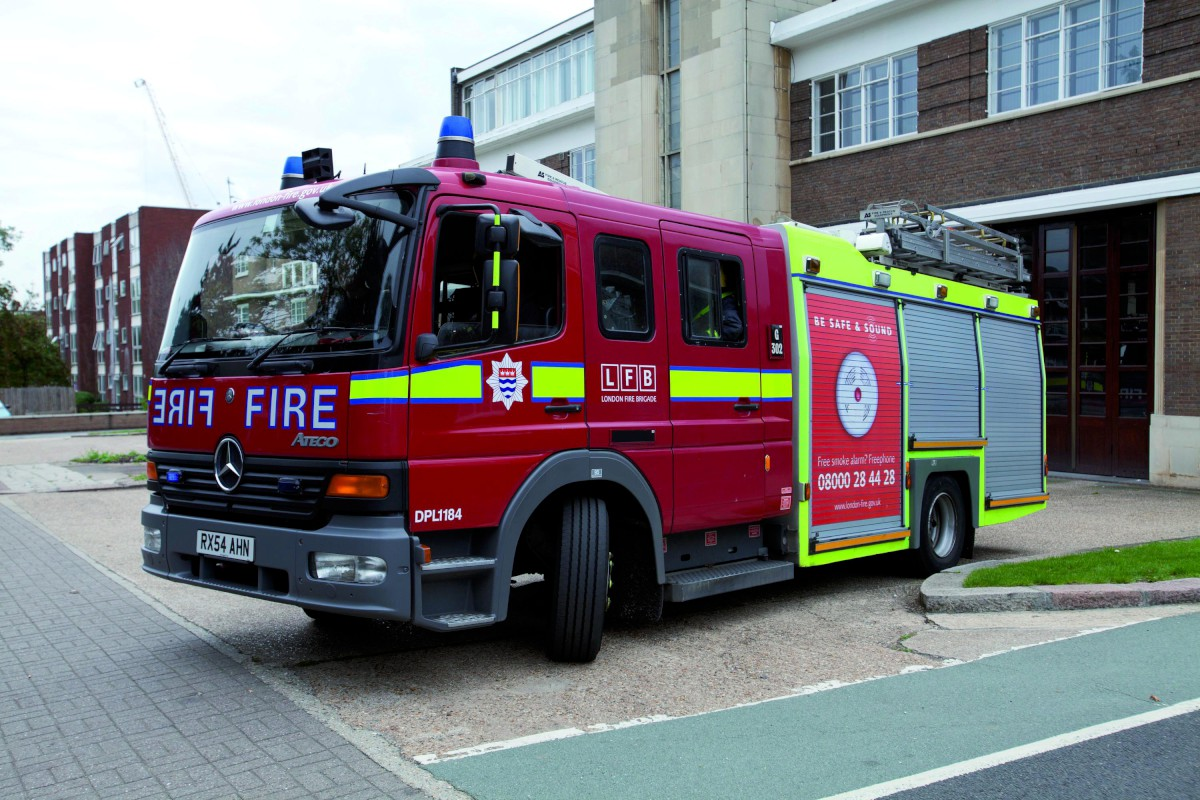 Firefighers from Croydon station have been called to the fire