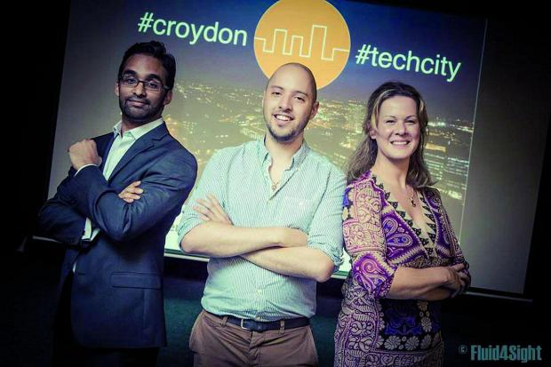 Croydon Guardian: The Croydon Tech City team