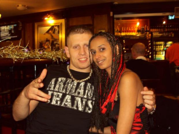Danny Gough and girlfriend Kareen Modashia, who was with him when he was murdered